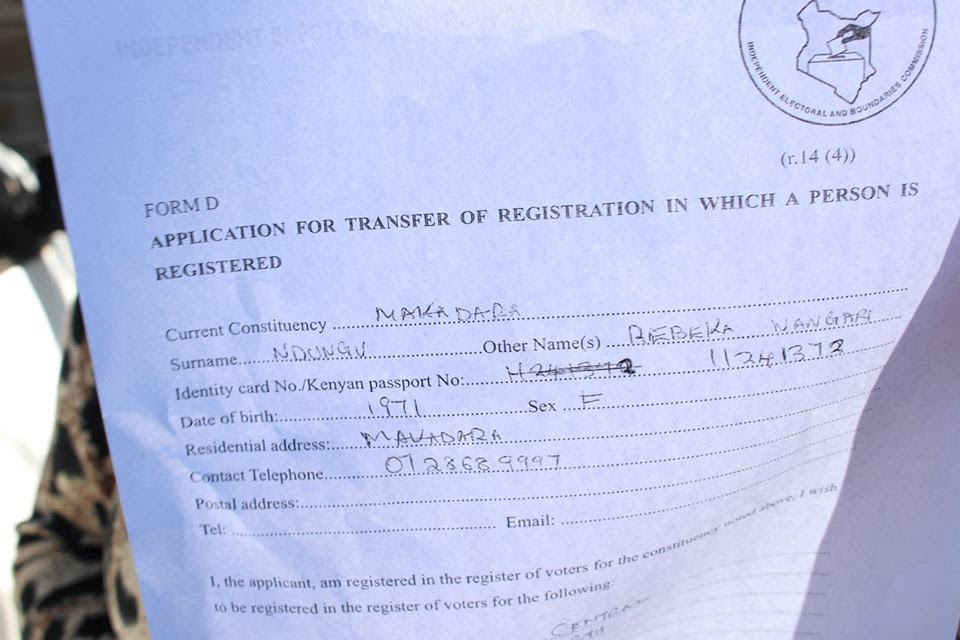 ODM Caught Red-handed tampering with IEBC voter registration documents