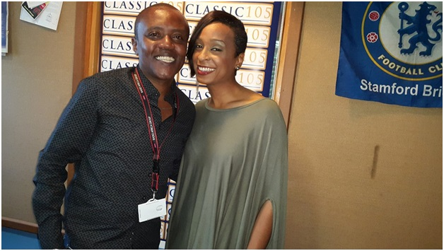 Photos of MAINA KAGENI getting nasty with Jamaican Songstress ALAINE