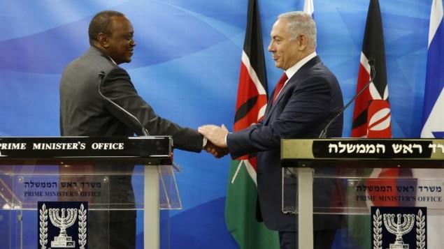 UHURU Kenyatta badly embarrassed by ISRAEL PM Benjamin Netanyahu