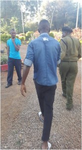 BABU OWINO of SONU caught on camera beating a student for criticizing his bad leadership