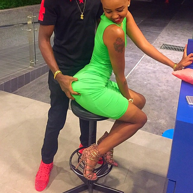 HUDDAH MONROE Reveals she is in love with EZEKIEL KEMBOI the Kenya's 3000m steeplechase legend