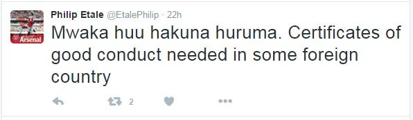 Is RAILA ODINGA celebrating the banning of KIKUYUS from Tanzania? This is what ODM blog revealed