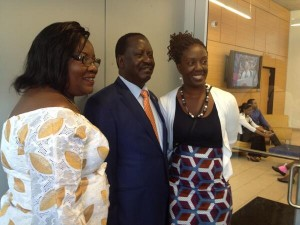 RAILA'S Daughter WINNIE reveals that RAILA may not run for presidential elections 2017