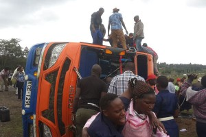 2 die, 49 injured in Kinungi road accident Naivasha