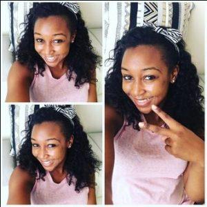 Betty Kyallo Happy and relieved. She says she has Overcome Dennis Okari
