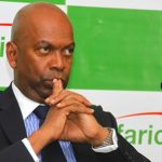 Safaricom - Financial Year Results, After tax profit 2015 - 2016, Sh38.1B, Total revenue Sh195.7 B, dividend 76 cents per share, M-Pesa, EBITDA, SMS, Data