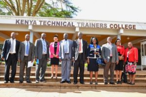 Colleges offering Advanced Certificate Training Trainers TOT, KIM, Kenya Technical Trainers College, KTTC, School of Government, Contacts, County