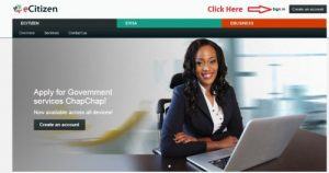 KenyaeCitizen Portal Account - How to create an eCitizen account for Kenyan citizens