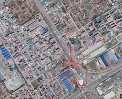 Location of of Taj Mall on the map