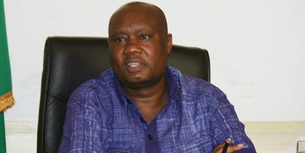 Busia Governor Sospeter Ojaamong caught with another man's wife