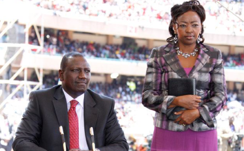 Image result for wILLIAM RUTO AND RACHAEL