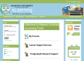 Maseno University eLearning Portal