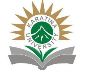 Karatina University KUCCPS