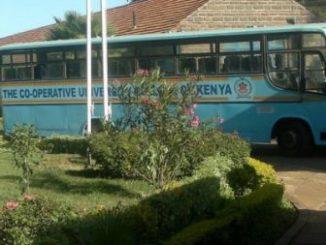 Cooperative University of Kenya Student Portal