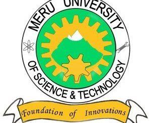 Meru University KUCCPS Admission Letters